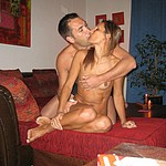Middle-aged woman making love with her man so beautiful and wild - homemade porn photos